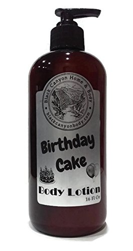 Image Unavailable Not Available For Color Black Canyon Birthday Cake Body Lotion