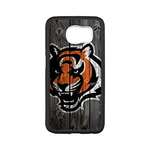For Samsung S6black Custom Phone Case for Cincinnati Bengals 01Diseño