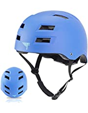 Flybar Dual Certified CPSC Multi-Sport Kids & Adult Bike and Skateboard Helmet– Impact Protection for Youth and Adults for Inline and Roller Skating, Skateboarding, BMX, Scooter, and Sports Activities