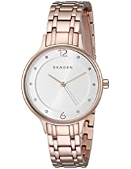 Skagen Women's Anita SKW2323 Rose Gold Stainless-Steel Quartz Watch
