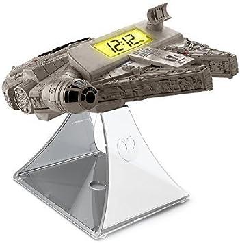 Star Wars Millennium Falcon Despertador incorporado Radio FM