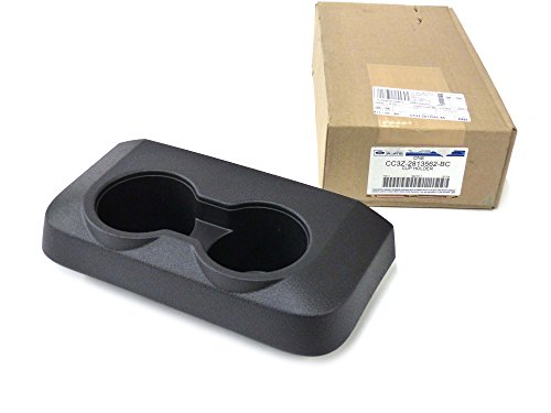 2011-2015 Ford F250 F350 Super Duty Rear Black Center Console Cup Holder OEM NEW
