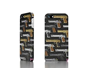 Apple iPhone 5 / 5S Case - The Best 3D Full Wrap iPhone Case - Desert_Eagles