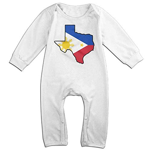 TYLER DEAN Newborn Baby Jumpsuit Philippines Flag Texas Map Kid Pajamas -