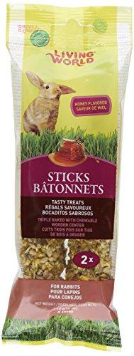 Living World Rabbit Honey Treat Sticks, 4-Ounce