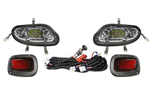 13Autosupply Full LED Street Legal Light Kit for EZ-GO TXT FREEDOM by 13Autosupply