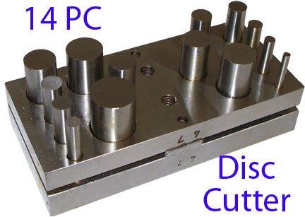 5 piece metal disk cutter set - 4