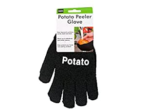 Bulk Buys HW872-24 Potato Peeler Gloves - 24 Piece