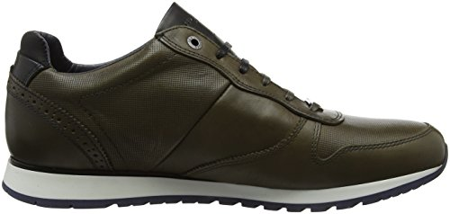 Ted Baker Shindl Lthr Am Dk Green, Sneaker Uomo Verde (Dark Green)