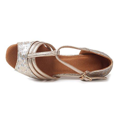 Pour De Or Danse Ukxgg Latine Chaussures Bal Femmes Standard Rose Salle Modle Ykxlm RIwUqdq