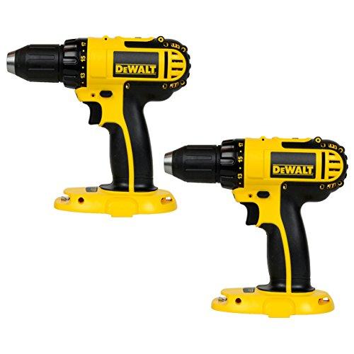 Dewalt DC720 18-Volt Cordless 1/2-Inch Drill/Driver - Bare Tool (2 Pack)