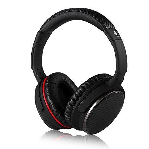 Bluetooth Over Ear Headphones, Topdon TP550 Lightweight Wireless Bluetooth Headphone with Microphone Noise Cancelling Earphone Handsfree Headphones Circumaural Headphones