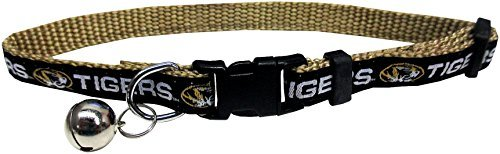 Pets First Collegiate Missouri Tigers Cat Collar by Pets First