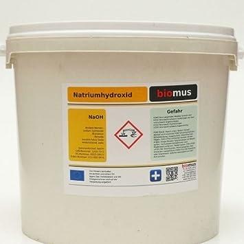 5 kg sosa 100% Hidróxido de sodio cáusticas soda micro perlas de ...