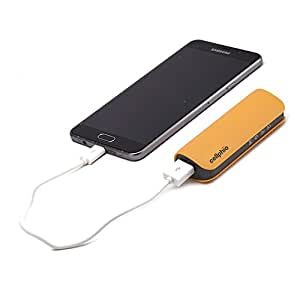 Premium USB Power Bank Portable Charger. External Cell Phone Battery Pack. In-Built Safety. Certified. Light Weight, Attractive & Versatile. No-Risk Guarantee. Backup Power for Smart Phones.
