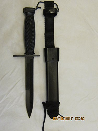 Us Military Vietnam Era M7 Bayonet Knife With M10 Sheath New In Original Packaging