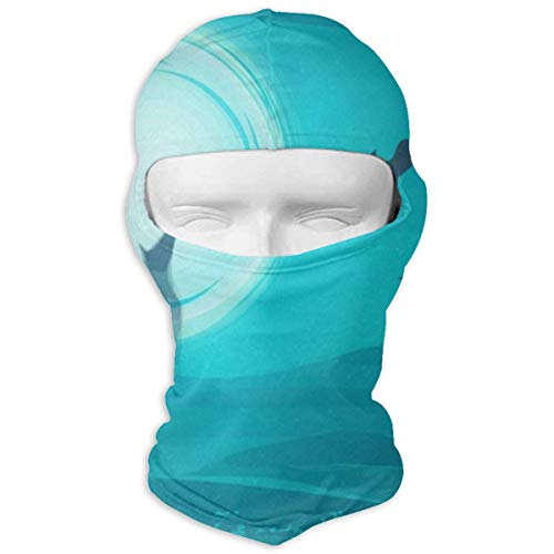 Balaclava Vintage Happy Halloween Wolf Moon Full Face Masks UV Protection Ski Cap Womens Snowboard for Cycling