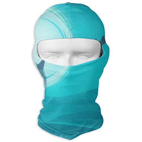 Balaclava Vintage Happy Halloween Wolf Moon Full Face Masks UV Protection Ski Cap Womens Snowboard for Cycling ()
