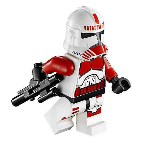 LEGO 75046 Star Wars Clone Wars Coruscant Police Ship Shock Trooper Minifigure Generic (Clone Trooper Shock)