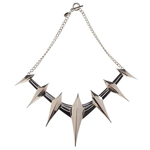 Bioworld Black Panther Spike Cosplay Collar Necklace ()