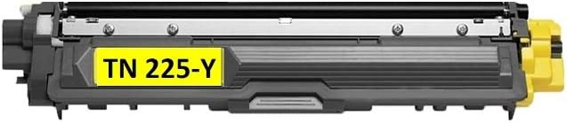 HL-3170CDW Printer- MFC-9330CDW HL-3140CW MFC-9340CDW Calitoner Compatible Laser Toner Cartridge Yellow Replacement Brother TN221 TN225 for Brother MFC-9130CW 1 Pack