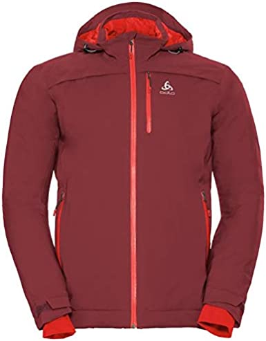 Odlo Herren Jacket Insulated Flow Cocoon Zw Waterproof Regenjacke