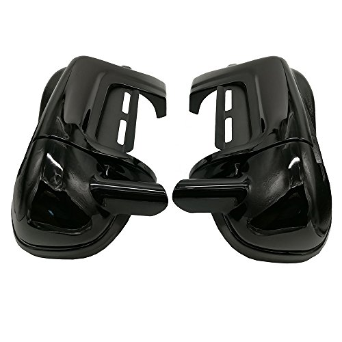 - Lower Vented Leg Fairings Glove Box for Harley Touring Street Electra Road Glide Ultra Classic 1983-2013