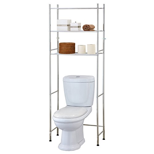 Tatkraft Roomy Over Toilet Storage Shelves Space Saver WC Bathroom / Shelving Unit over Washing Machine 24