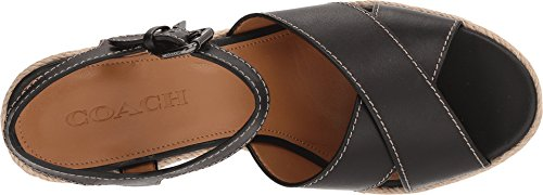 Coach Womens Eaton Wedge Nero
