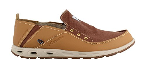 - Columbia Men's, Bahama Vent PFG Slip on Boat Shoe ELK 10 M