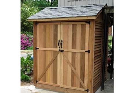 outdoor living today maximizer 6 x 6 storage shed - Garden Sheds 6 X 6