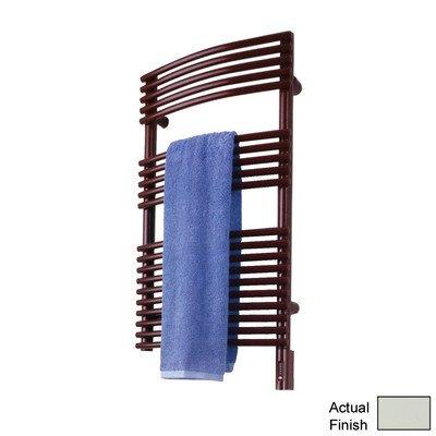 Runtal STR-3420-9002 Solea Hydronic Towel Radiator 34-in H x 20-in W Gray - Towel Radiator 9002 Hydronic