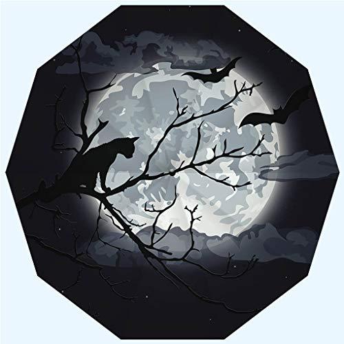 (Fashion Travel Umbrella Sun Umbrella UV protection automatic opening and closing, Halloween night, windproof - rainproof - men - ladies - versatile - 42)