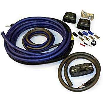 Magnificent Amazon Com Kicker Ck4 Complete 4 Gauge Ofc Ck Series 2 Channel Wiring 101 Cranwise Assnl