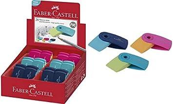 Faber Castell 9555684679765 - Estuche de 24 Gomas de borrar, Multicolor: Amazon.es: Juguetes y juegos