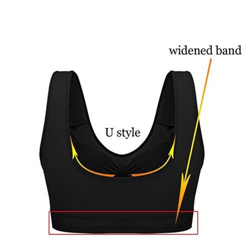 Nuovo Vest Comfort Cuciture Boolavard Stretch Bras Crop Reggiseno Stile Senza Baby Top Sport Pink Shapewear 1dxSqT