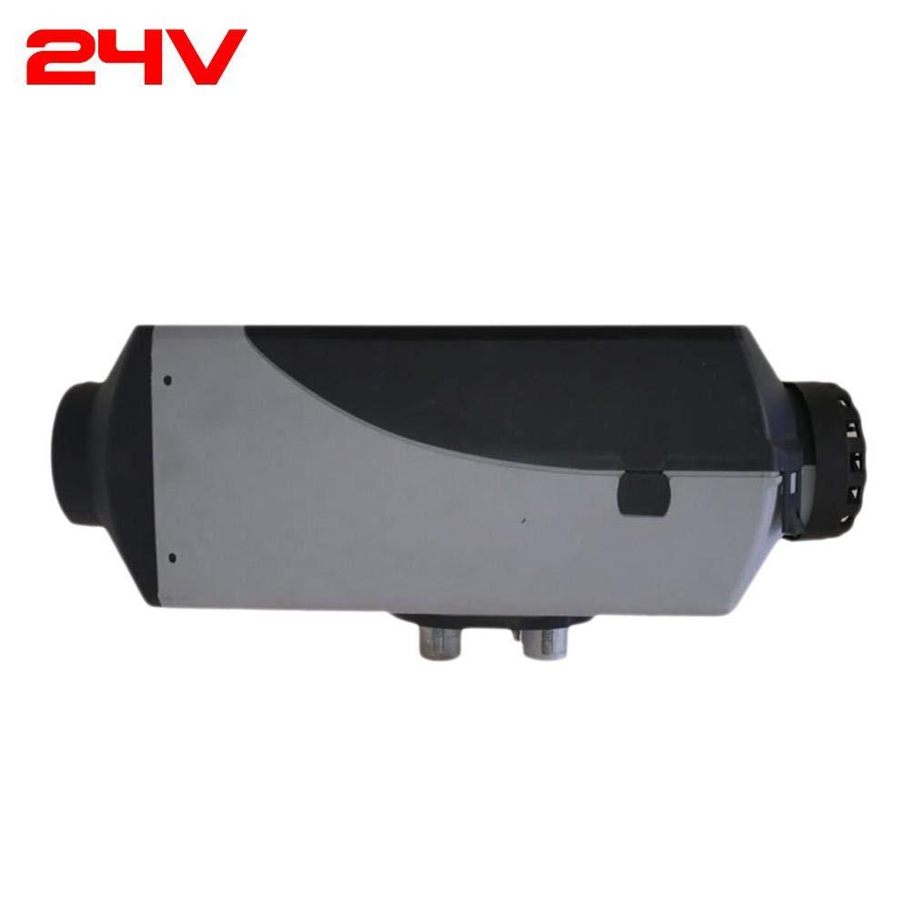 Diesel Riscaldamento termostato riscaldatore con Telecomando Display LCD per Auto Camion Bus Van Motor-Home Bus 12/V//24/V 5/kW Ljourney Diesel Air riscaldatore riscaldatore ad Aria