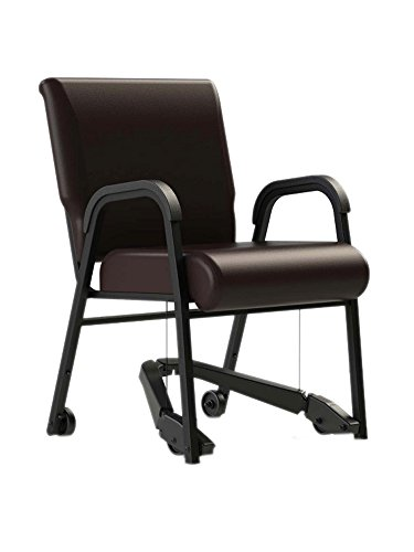 ComforTek Seating Company CT841-22R Mobility Assist 22 inch Chair, Armed Metal Frame with Vinyl