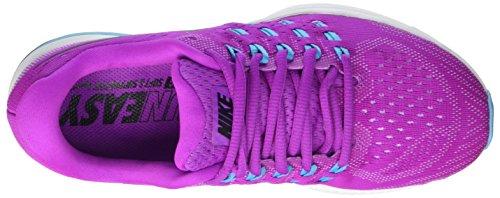Nike Kvinnor Luft Zoom Vomero 11 Löparskor Hyper Violett / Aqua / Vit