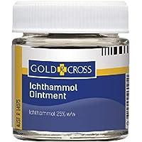 Gold Cross Ichthammol Ointment 25% 25g