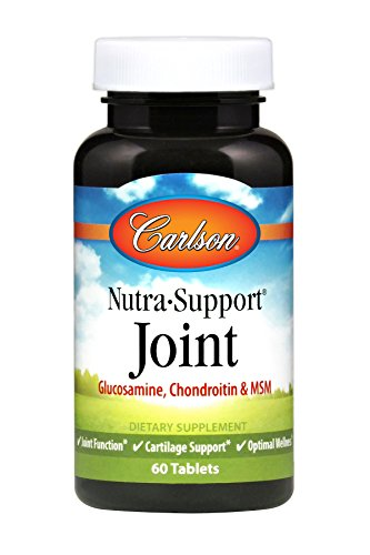 - Carlson Nutra-Support Joint, Glucosamine, Chondroitin, MSM, 60 Tablets