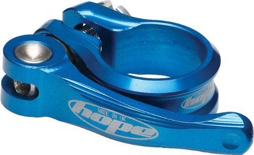 Hope QR Seat Post Clamp Blue, 31.8 by Hope