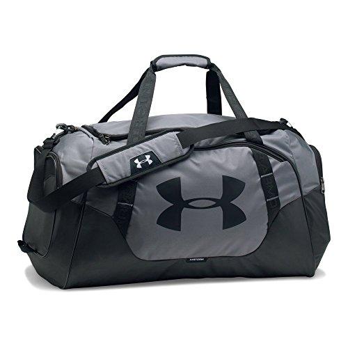 Under Armour Undeniable Duffle 3.0 Gym Bag, Graphite (040)/Black, Medium