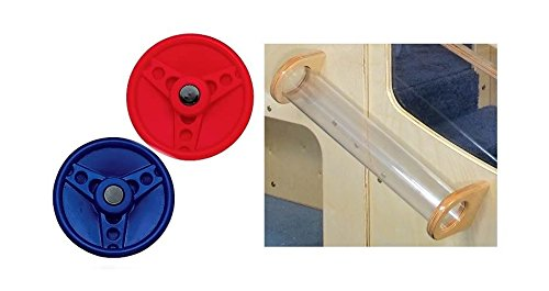 Steering Wheels & Tracking Tube for Dream Loft by Strictly for Kids