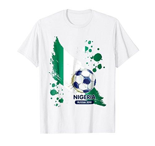 Nigeria World Football Cup Soccer Jersey Russia 2018 Tshirt