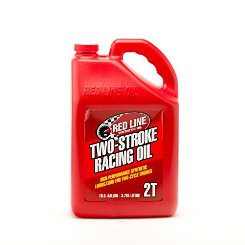 (Red Line 40605 2-Stroke Race Oil, 1 Gallon, 1 Pack)