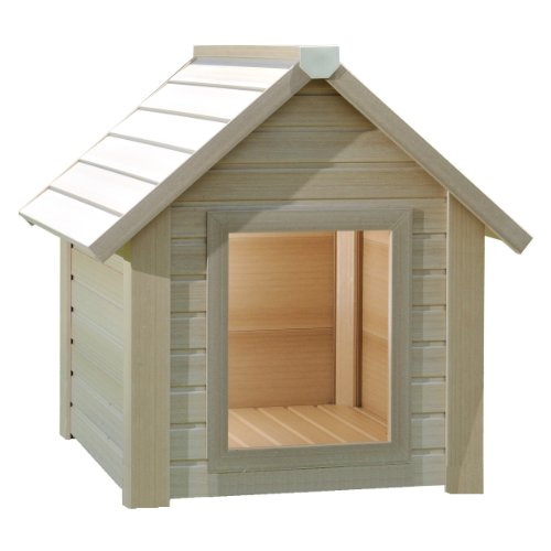 New Age Pet Eco Friendly Bunk House Style Dog House, Small