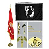"4′ x 6′ 4×6 FT POW-MIA Flag SolarMax Nylon US Made ""Double Sided"" For Sale"