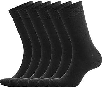 6-Pairs Gobest Men's Cotton Dress Socks