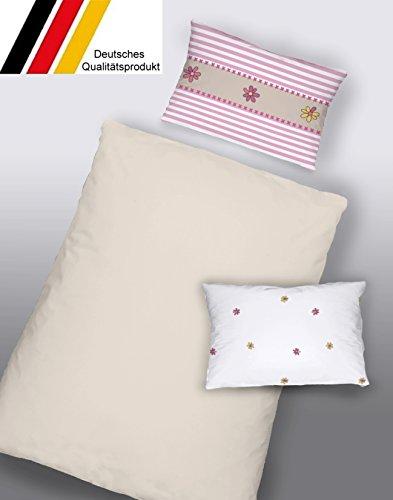 Dormisette Kinderbettwäsche Babybettwäsche Baumwolle 100x135 (5104) Made in Germany